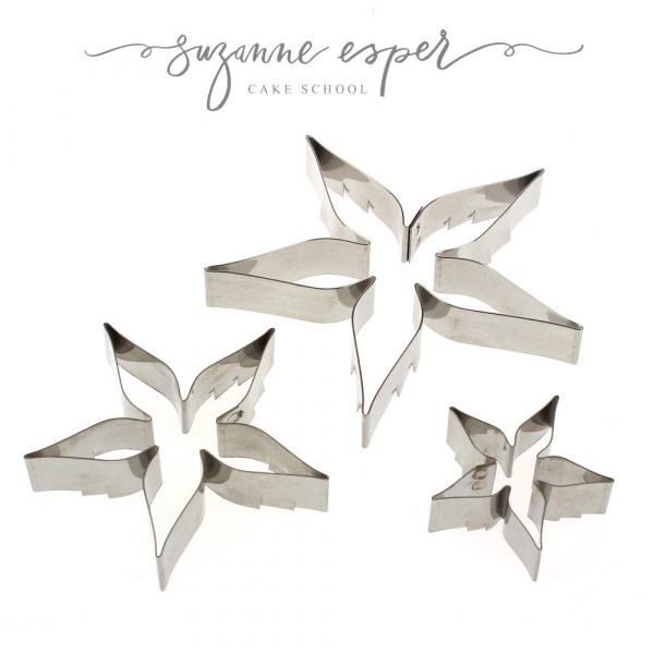 Suzanne Esper Cutters 3 pc Rose Calyx