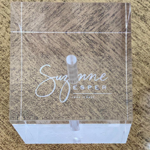 Suzanne Esper Acrylic Holder Single 1