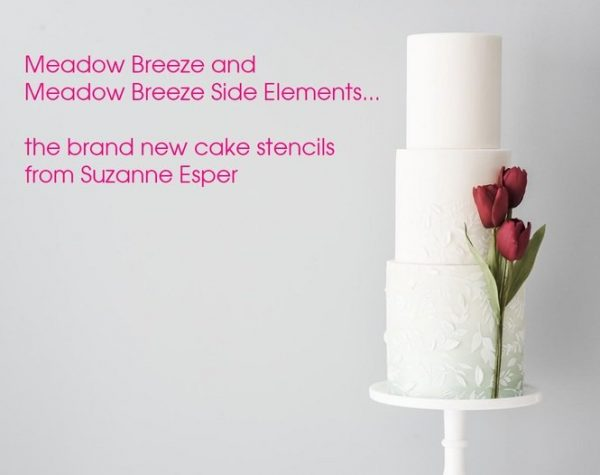 Suzanne Esper Meadow Breeze Stencil Cake 2